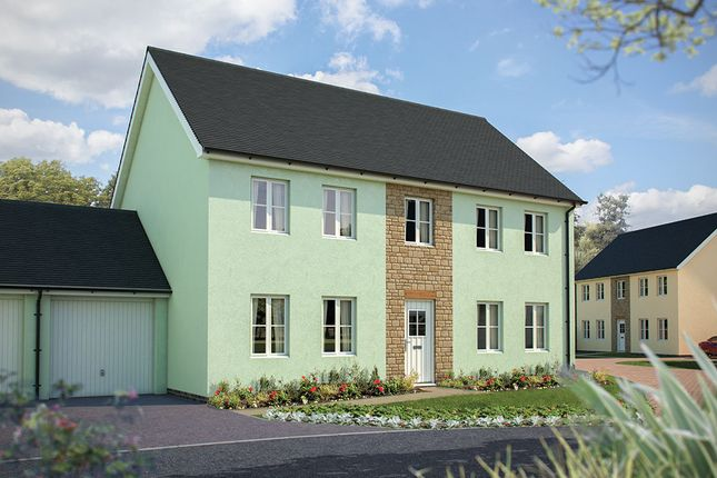 "Thumbnail Detached house for sale in ""The Harriett"" at Fremington, Barnstaple, Devon, Fremington"