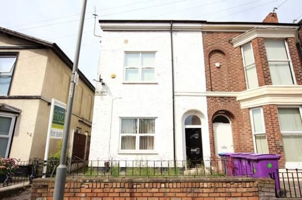 Thumbnail End terrace house to rent in Stanley Street, Fairfield, Liverpool, Merseyside