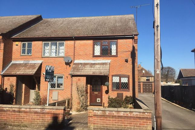 Thumbnail End terrace house for sale in New Road, Great Kingshill, High Wycombe