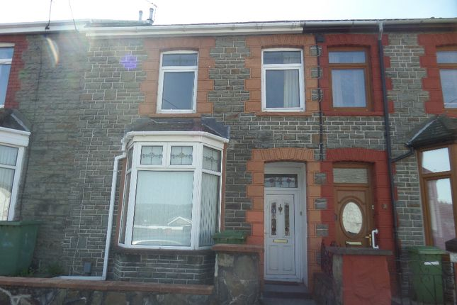 Thumbnail Terraced house to rent in Oliver Terrace, Treforest, Pontypridd
