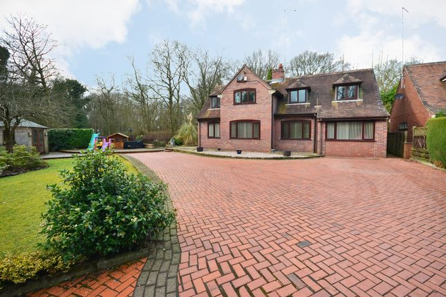 Thumbnail Detached house for sale in Station Road, Keele, Newcastle-Under-Lyme