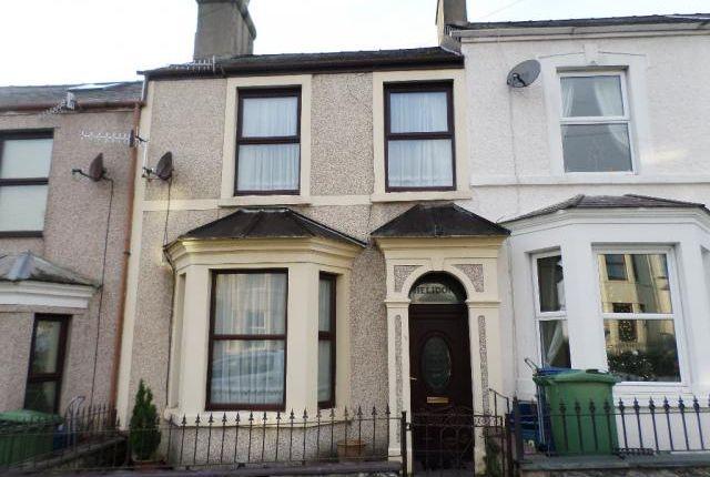 Thumbnail Terraced house to rent in 12, Segontium Road South, Caernarfon