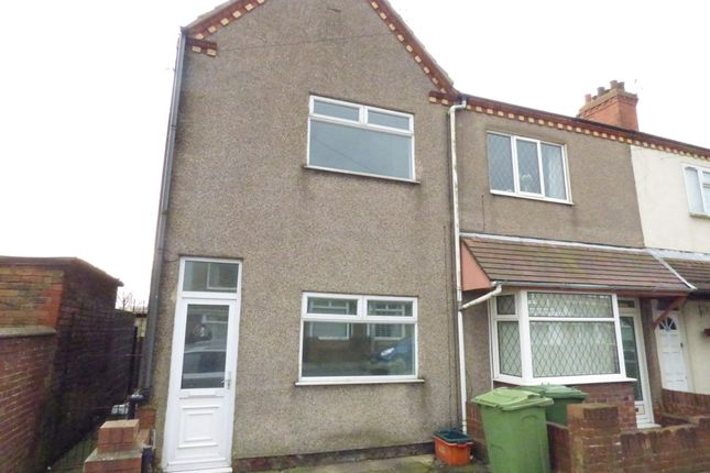 Thumbnail End terrace house for sale in Columbia Road, Grimsby
