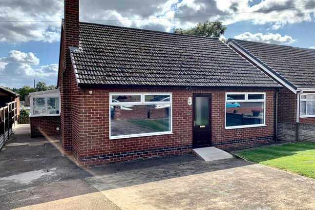 Thumbnail Bungalow for sale in Woodfield Drive, Swadlincote, Derbyshire