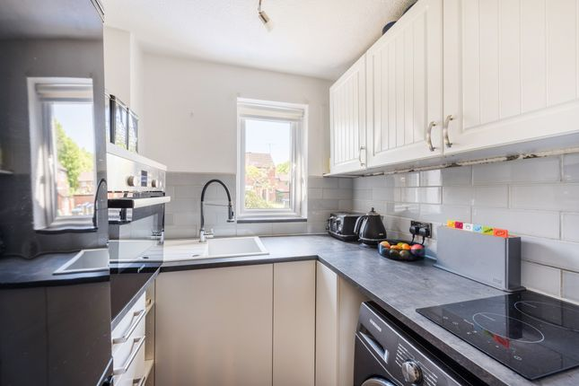 Thumbnail End terrace house for sale in Estcots Drive, East Grinstead