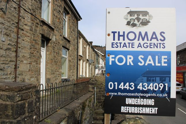 Thumbnail End terrace house for sale in De Winton Street, Tonypandy