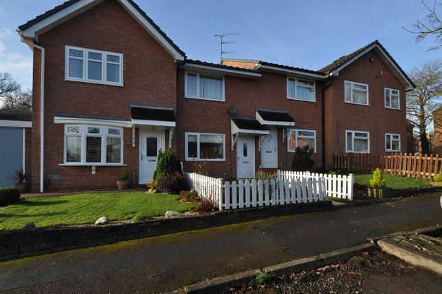 Thumbnail Terraced house for sale in Bilbury Close, Walkwood, Redditch