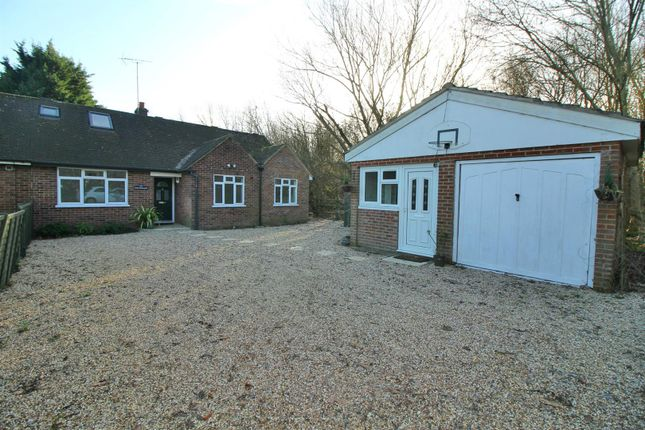 Thumbnail Semi-detached bungalow for sale in Wharf Road, Wormley, Broxbourne