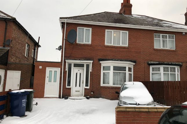 Thumbnail Semi-detached house to rent in Dunholme Road, Newcastle Upon Tyne