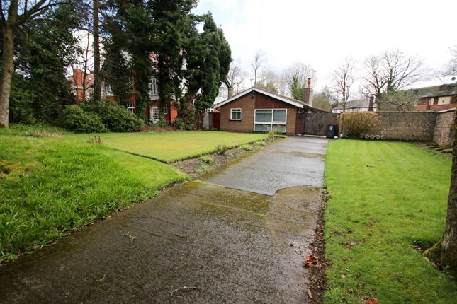 Thumbnail Detached bungalow for sale in Stafford Road, Eccles, Manchester