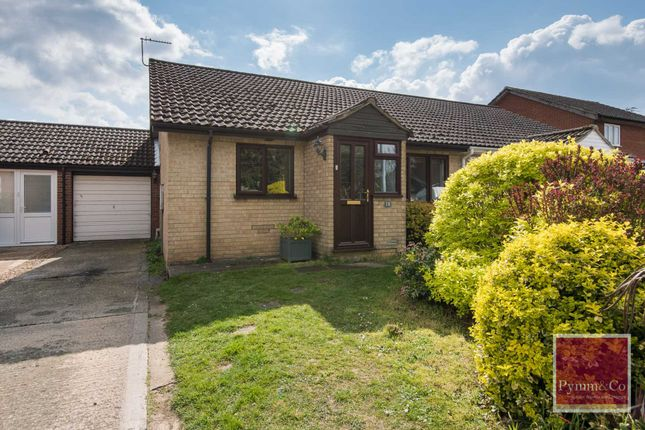 Thumbnail Semi-detached bungalow for sale in Wood View Court, New Costessey, Norwich