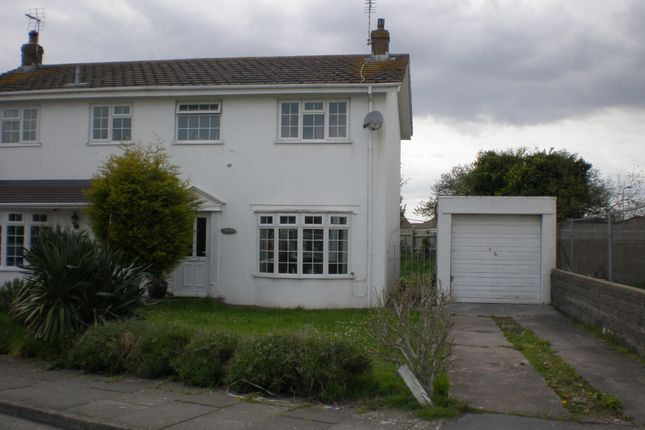 Thumbnail Semi-detached house to rent in Sker Walk, Porthcawl