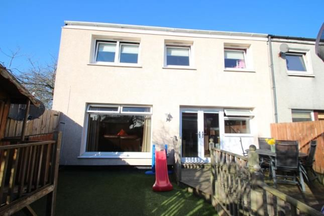 Thumbnail End terrace house for sale in Ashiestiel Place, Cumbernauld, Glasgow, North Lanarkshire