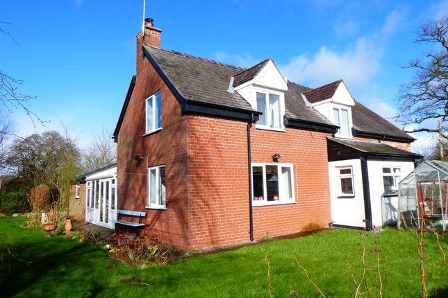 Thumbnail Detached house to rent in Dudleston, Ellesmere
