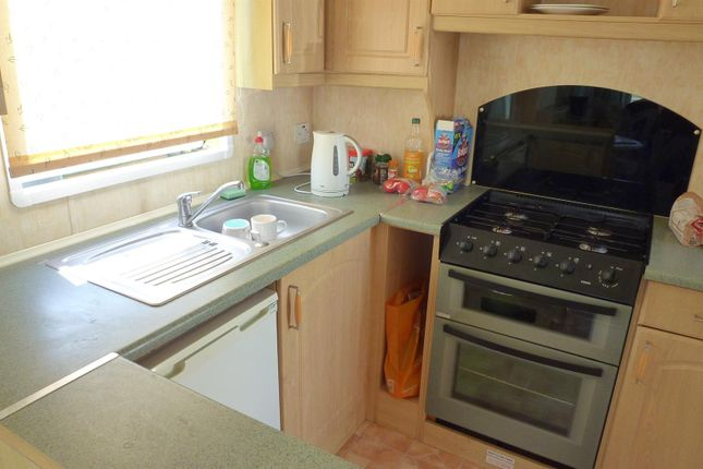 Kitchen of Riverside Caravan Park, Shrpney, Bognor Regis PO22