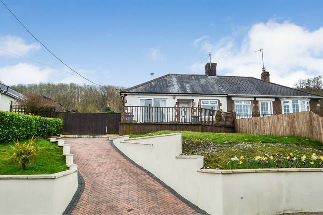Thumbnail Semi-detached bungalow for sale in Halls Road, Newbridge, Newport, Caerphilly