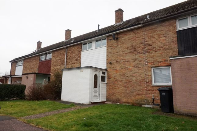 Thumbnail Terraced house for sale in Purford Green, Harlow