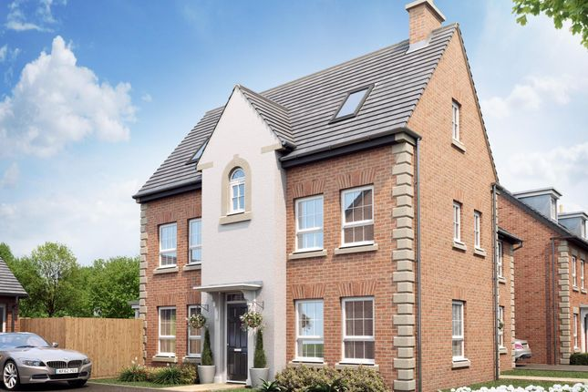 "Thumbnail Detached house for sale in ""Hawick"" at Harbury Lane, Heathcote, Warwick"