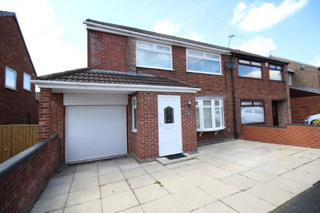 Thumbnail Semi-detached house to rent in Drayton Crescent, Laffak, St Helens