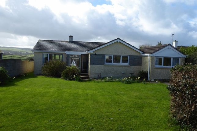 Thumbnail Detached bungalow to rent in Atlantic Close, Treknow, Tintagel