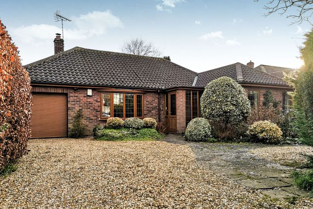 Thumbnail Detached bungalow for sale in Keswick Road, Cringleford, Norwich