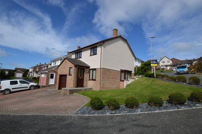 Thumbnail Detached house for sale in Parc Godrevy, Newquay, Cornwall