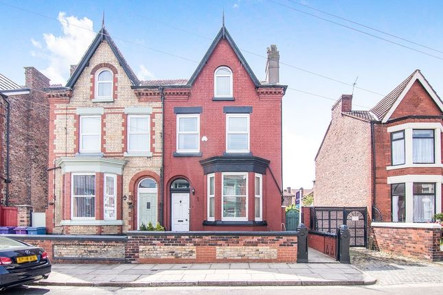 Thumbnail Semi-detached house for sale in Harley Street, Liverpool