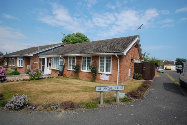 Thumbnail Semi-detached bungalow for sale in Allandale Close, Selsey, Chichester