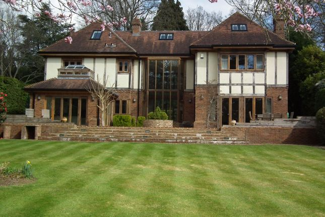 Thumbnail Detached house to rent in Pipers End, Virginia Water, Surrey