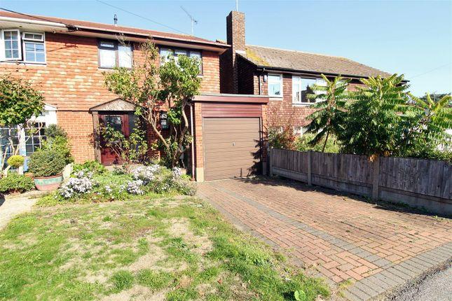 Thumbnail Semi-detached house for sale in Church Road, Hadleigh, Benfleet