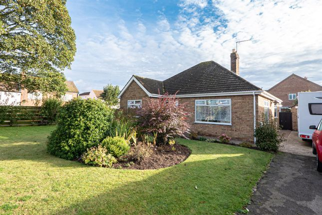 Thumbnail Detached bungalow for sale in Riston Road, Catwick, Beverley