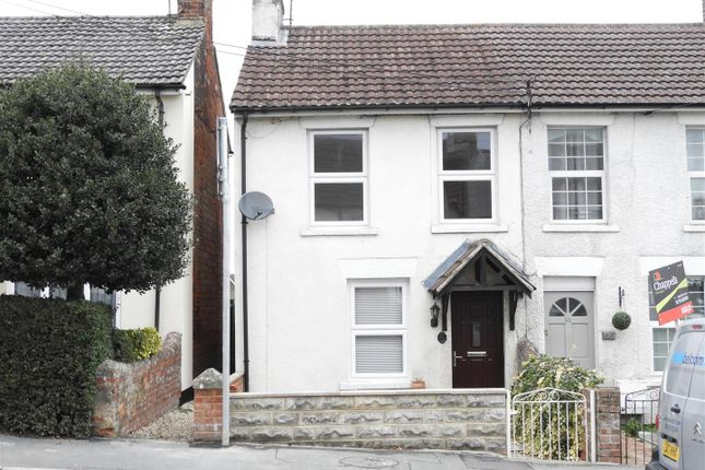 Thumbnail Semi-detached house to rent in High Street, Wroughton, Swindon