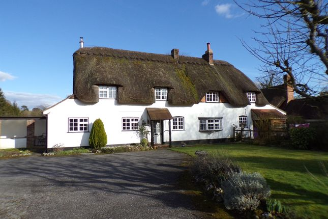 Thumbnail Cottage for sale in Brooklands, Stoke, Andover