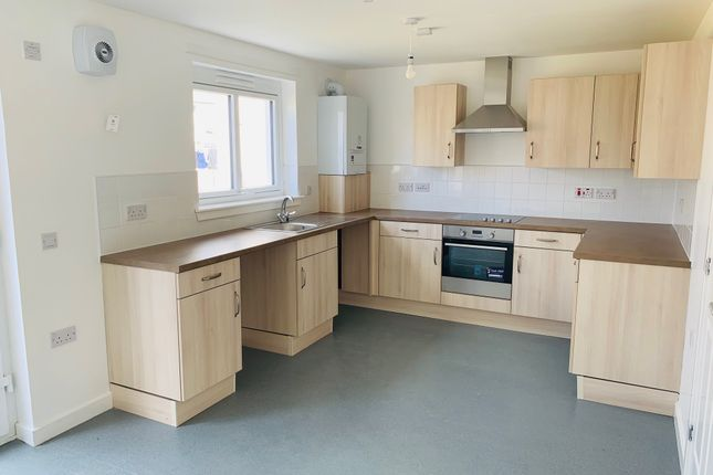 Thumbnail End terrace house to rent in Knight Crescent, Edinburgh