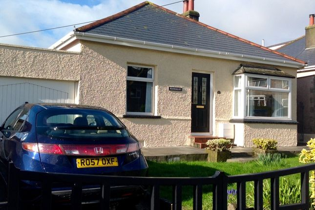 Thumbnail Detached bungalow for sale in Carbeile Road, Torpoint