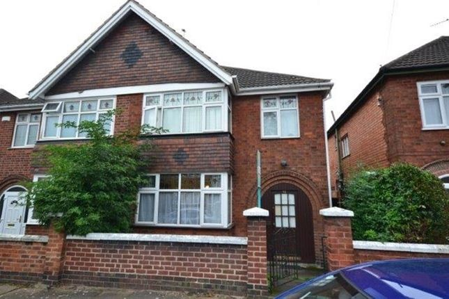 Thumbnail Semi-detached house to rent in Dixon Drive, Stoneygate, Leicester