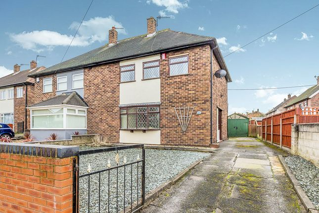 Thumbnail Semi-detached house for sale in Yateley Close, Bentilee, Stoke-On-Trent