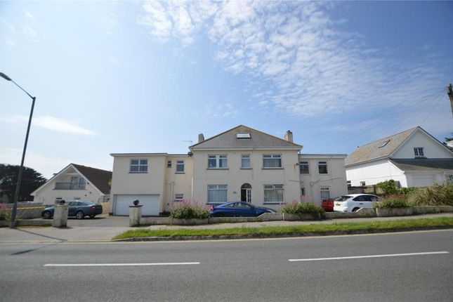 Thumbnail Detached house for sale in Pentire Avenue, Newquay, Cornwall