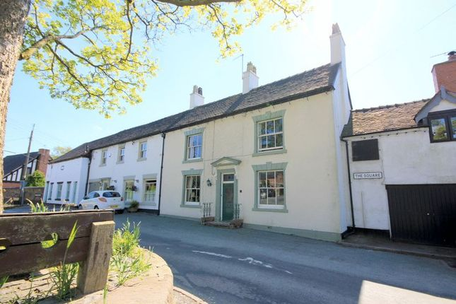Thumbnail Terraced house for sale in The Square, Caverswall, Stoke-On-Trent