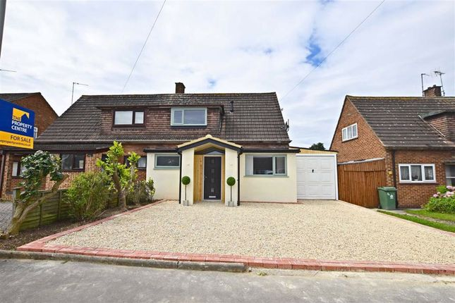 Thumbnail Semi-detached house for sale in Beechcroft Road, Longlevens, Gloucester