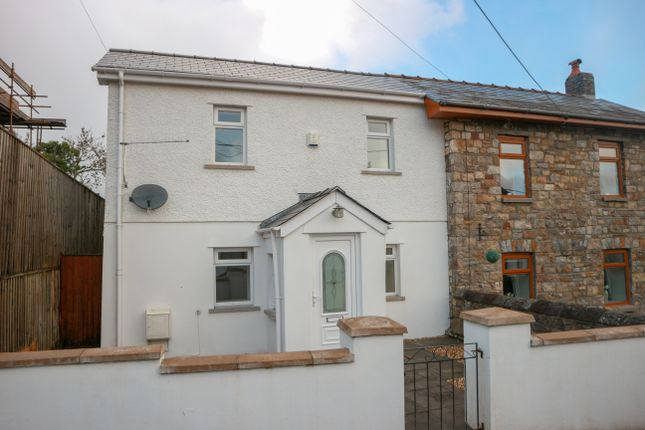 Thumbnail Semi-detached house for sale in Heolgerrig Road, Heolgerrig, Merthyr Tydfil