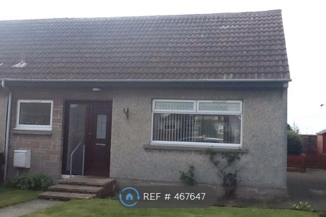 Thumbnail End terrace house to rent in Bellevue Crescent, Prestwick