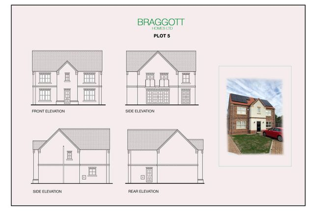 Thumbnail Detached house for sale in Chessington Gardens Thorne Road, Edenthorpe, Doncaster