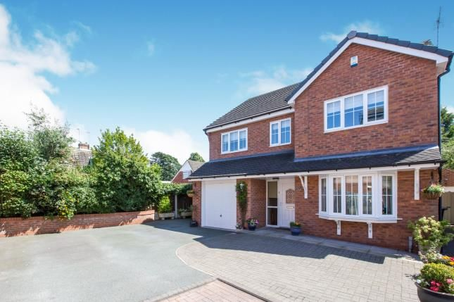 Thumbnail Detached house for sale in Limes Close, Haslington, Crewe, Cheshire