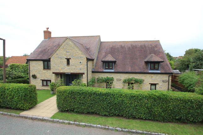 Thumbnail Detached house for sale in Shenley Road, Shenley Church End, Milton Keynes