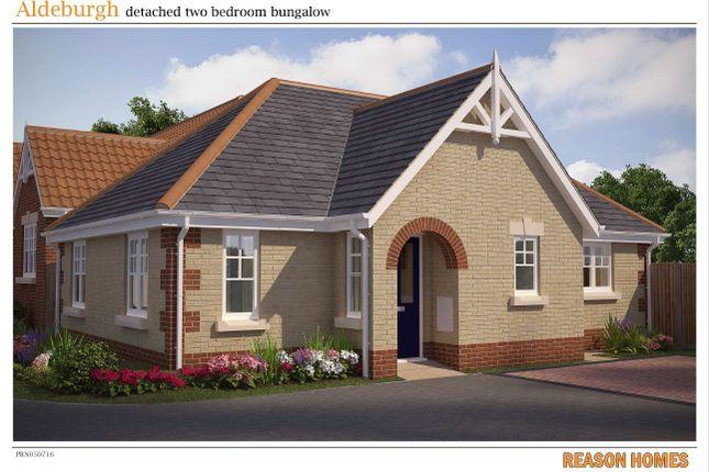 Thumbnail Detached bungalow for sale in Edgecomb Park Development, Stowmarket