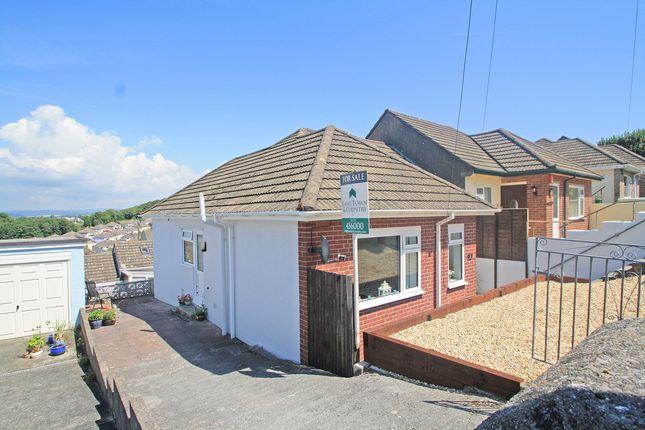 Thumbnail Semi-detached bungalow for sale in Belle Vue Avenue, Hooe, Plymouth