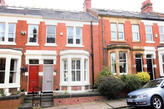 Thumbnail Terraced house for sale in Kimberley Gardens, Jesmond, Newcastle Upon Tyne