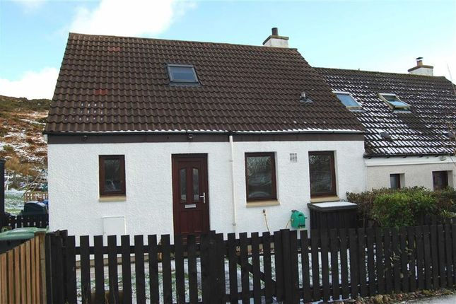 Thumbnail Semi-detached house for sale in Glebe Park, Gairloch, Ross-Shire