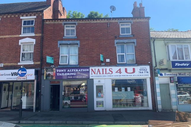 2 bed flat for sale in Flat 1, 104 Coventry Street, Kidderminster DY10